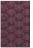 rug #192233 |  purple rug