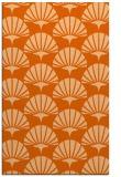 rug #192269 |  red-orange retro rug