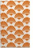 rug #192277 |  red-orange retro rug