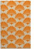 rug #192325 |  orange graphic rug