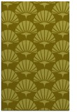 rug #192329 |  light-green retro rug
