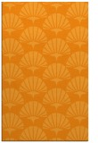 rug #192353 |  light-orange retro rug