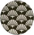 rug #192538 | round retro rug