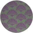 rug #192543   round retro rug