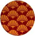 rug #192552 | round retro rug