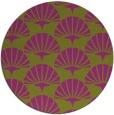 rug #192592 | round graphic rug