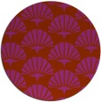 rug #192615 | round graphic rug