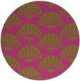 rug #192690 | round retro rug