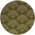 rug #192693 | round light-green graphic rug