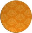 rug #192705 | round retro rug