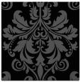 rug #193073   square black damask rug