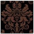 rug #193081 | square black damask rug