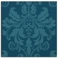 rug #193113 | square blue-green damask rug