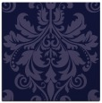 rug #193149 | square blue-violet damask rug