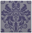 rug #193153 | square blue-violet damask rug