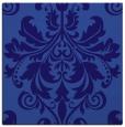 rug #193169   square blue-violet damask rug