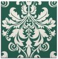 rug #193197 | square blue-green damask rug