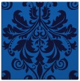 rug #193233 | square blue damask rug