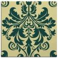 rug #193269 | square blue-green damask rug