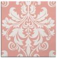 rug #193285 | square white damask rug