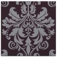 rug #193301 | square purple damask rug