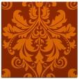 rug #193321 | square red-orange popular rug