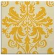 rug #193353 | square yellow damask rug