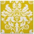 rug #193365 | square yellow traditional rug