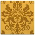 rug #193369 | square light-orange damask rug