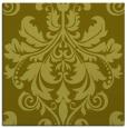 rug #193385 | square light-green damask rug