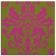 rug #193393 | square light-green damask rug