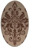 rug #193435 | oval traditional rug