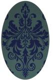 rug #193450   oval traditional rug