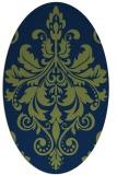rug #193453 | oval traditional rug