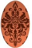 rug #193617   oval rug