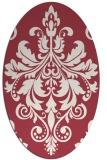 rug #193631 | oval traditional rug