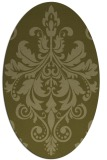rug #193749 | oval light-green rug