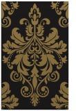 rug #193789 |  brown damask rug