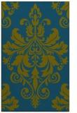 rug #193829 |  green damask rug