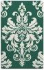 rug #193901 |  blue-green traditional rug