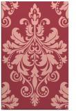 rug #193985 |  pink damask rug