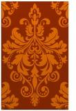 rug #194025 |  red-orange traditional rug