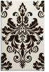 rug #194065 |  brown damask rug