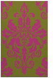 rug #194097 |  light-green traditional rug