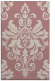 rug #194109 |  pink damask rug
