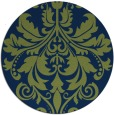 rug #194157 | round blue traditional rug