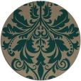 rug #194244   round traditional rug