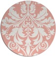 rug #194341 | round white traditional rug