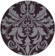 rug #194357 | round purple traditional rug