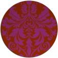 rug #194375 | round damask rug